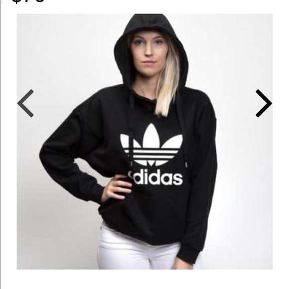 b3cc0da8 🔻NEW🔻 Women's Adidas Originals Trefoil Hoodie